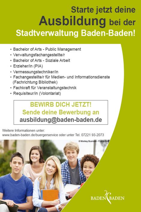 Ausbildung Baden Baden 2017
